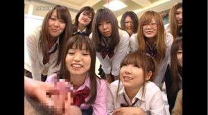 センズリに興味津々な女子校生